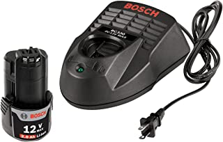 Bosch SKC120-102 12-Volt Max Lithium-Ion Starter Kit with (1) 2.0 Ah Battery and Charger
