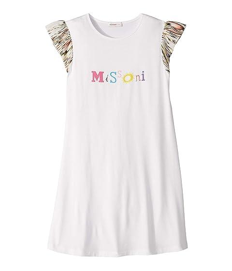 Missoni Kids Logo Print T-Shirt Dress (Big Kids)