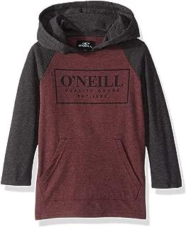 O'NEILL Boys' Logo Hooded Pullover Long Sleeve Shirt