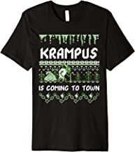 Krampus is Coming to Town - Funny Krampus Christmas T-Shirt
