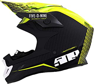 509 Altitude Carbon Fiber Helmet with Fidlock (Off Grid Hi-Vis - X-Large)