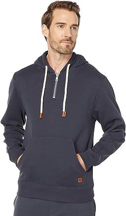 Slater 1/4 Zip-Garment Dyed