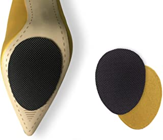 Non-Slip Shoes Pads 5 Pairs Self-Adhesive Shoe Grips rubber Anti-Slip Shoe Grips can Non-Slip Noise Reduction