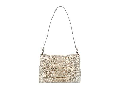 Brahmin Melbourne Lorelei Shoulder Bag (Sterling) Shoulder Handbags