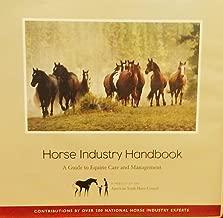 Best horse industry handbook Reviews