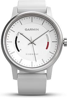 Garmin 佳明 Vivomov e经典系列智能手表 —— 玫瑰金皮革表带 白色 1.3