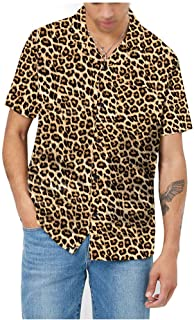 AVANZADA Leopard Tropical Hawaiian print1 XL