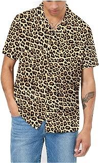 male cheetah print shirt