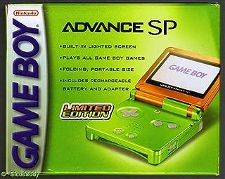 Game Boy Advance SP Limited Edition Lime/Orange