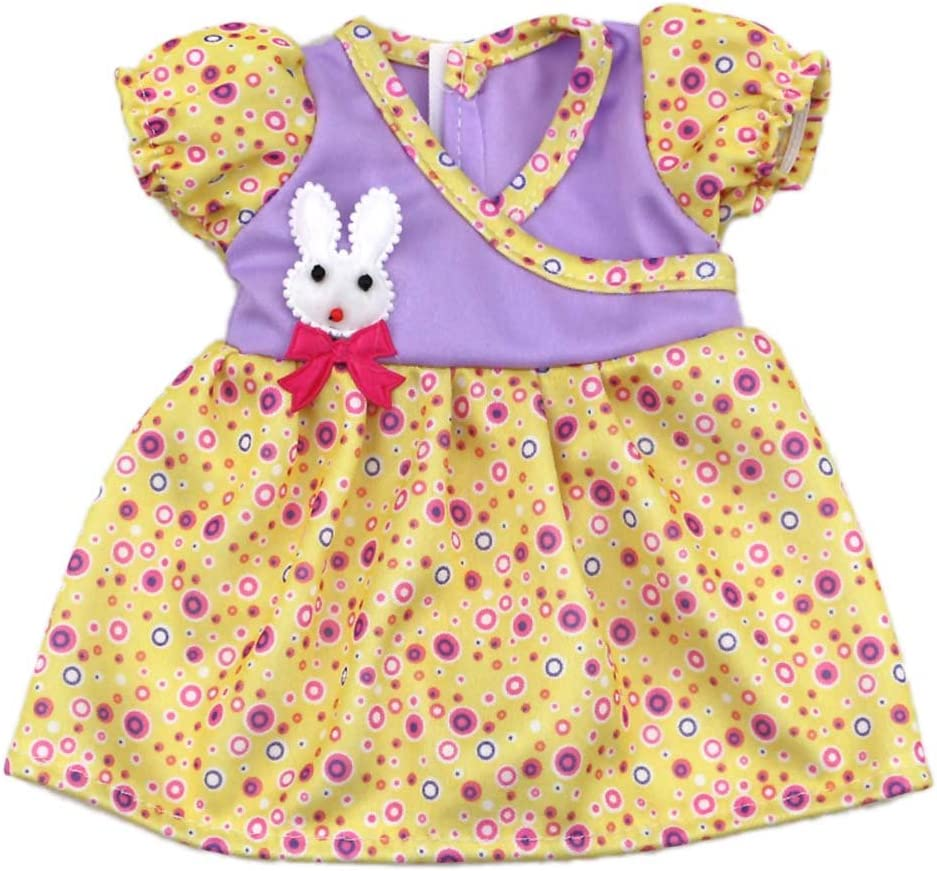 AOFUL Doll Dress Clothes for Dealing full price reduction Small Rabbit Baby Decora Safety and trust Bitty