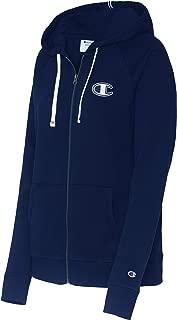 Champion Womens W9494 Heritage French Terry Full Zip Hood Long Sleeve Hooded Sweatshirt