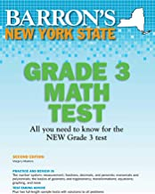 New York State Grade 3 Math Test (Barron's Test Prep NY)