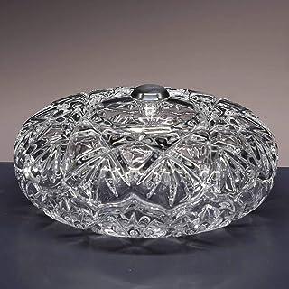 la galaica | Bombonera de Cristal - para Caramelos o Dulces - Colección 3555 - pomo en Plata de Ley 925-16,5x16,5x8 cm.