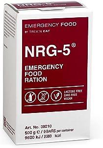 Katadyn NRG-5 Emergency Food Ration, tan