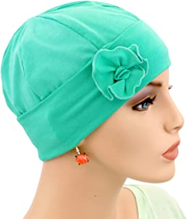 Hats for You Women's Flapper Chemo Cap with Flower