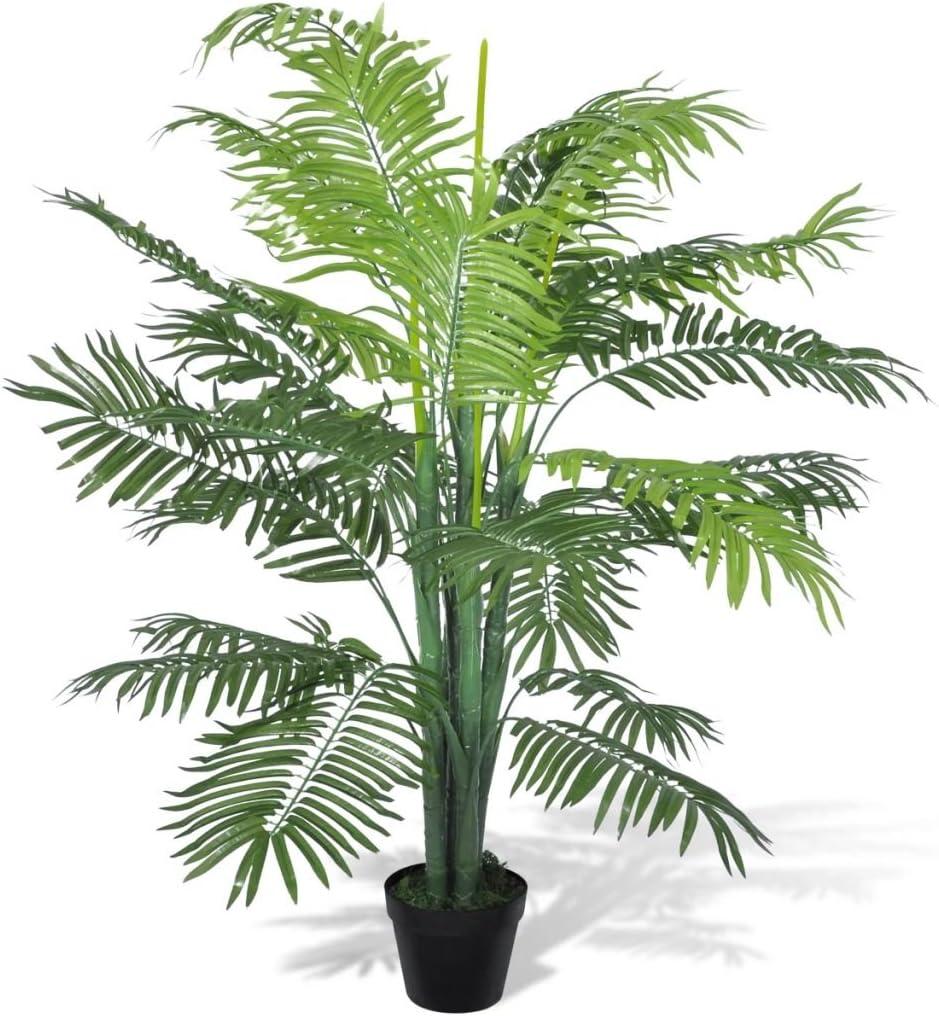 vidaXL Palmera Phoenix Artificial en Maceta 130 cm Planta Artficial Decorativa