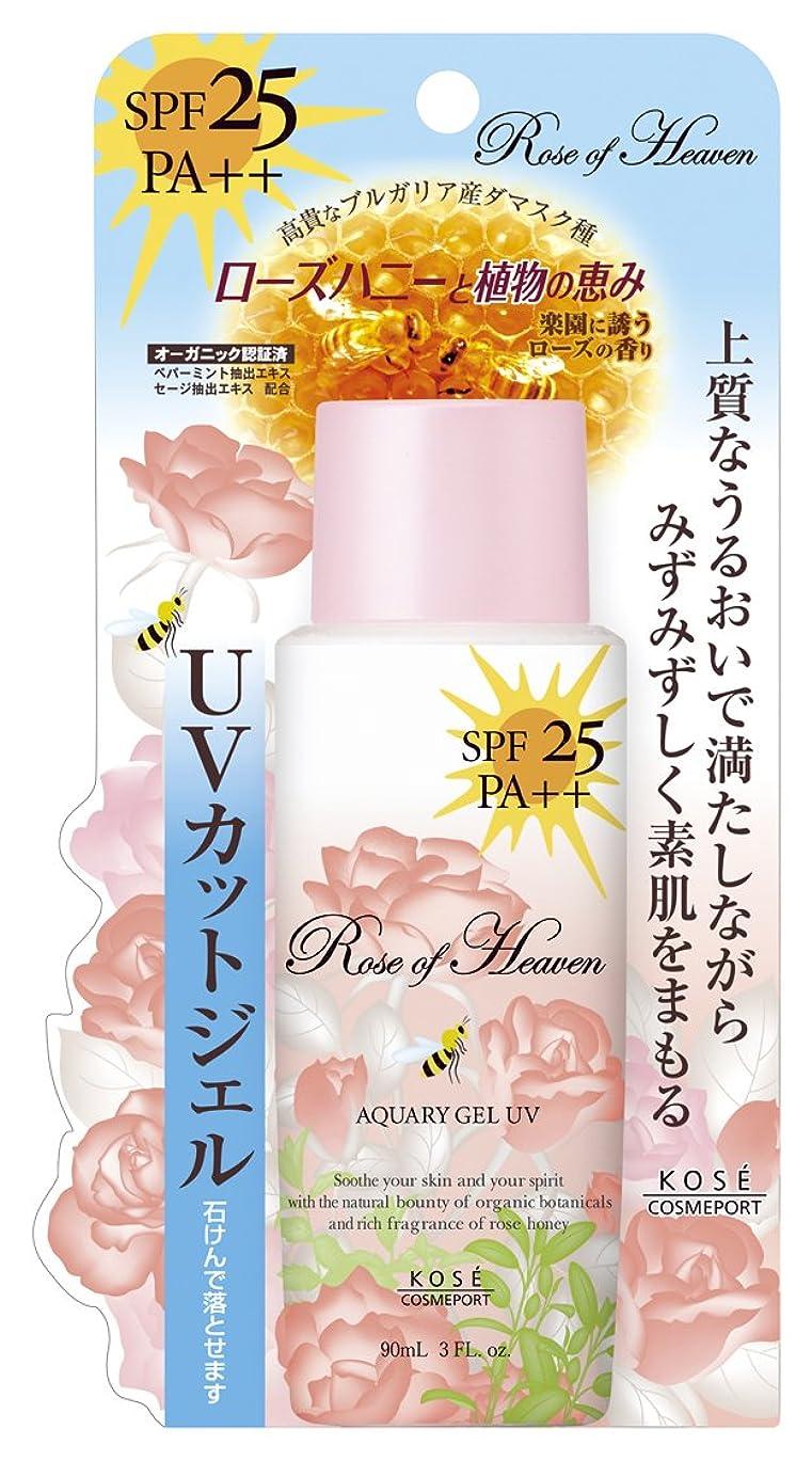 若い現実生産的Rose of Heaven(ローズオブヘブン) アクアリィジェル UV 90mL