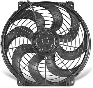 Flex-a-lite 11224 Black 12 24V Reversible Electric Fan