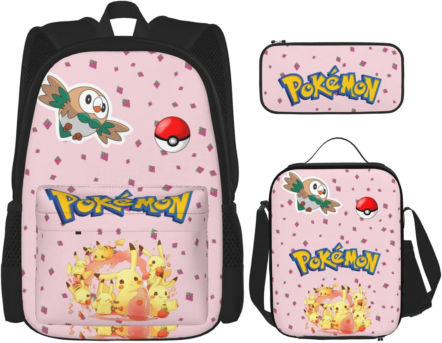 Multifunction Travel Backpack + Pencil Bag discount Combinat Case Lunch Max 79% OFF