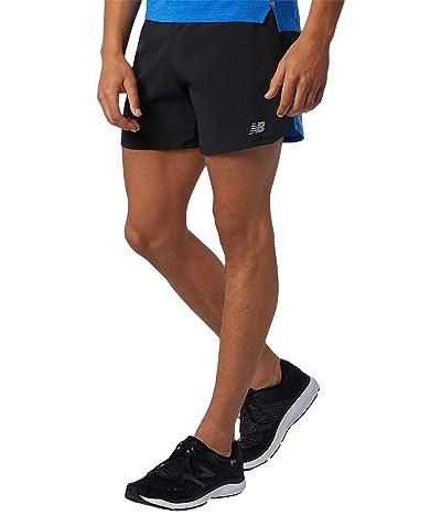 New Balance Impact Run 5-Inch Shorts (Faded Cobalt) Men