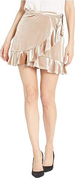 Look This Good Velvet Skirt
