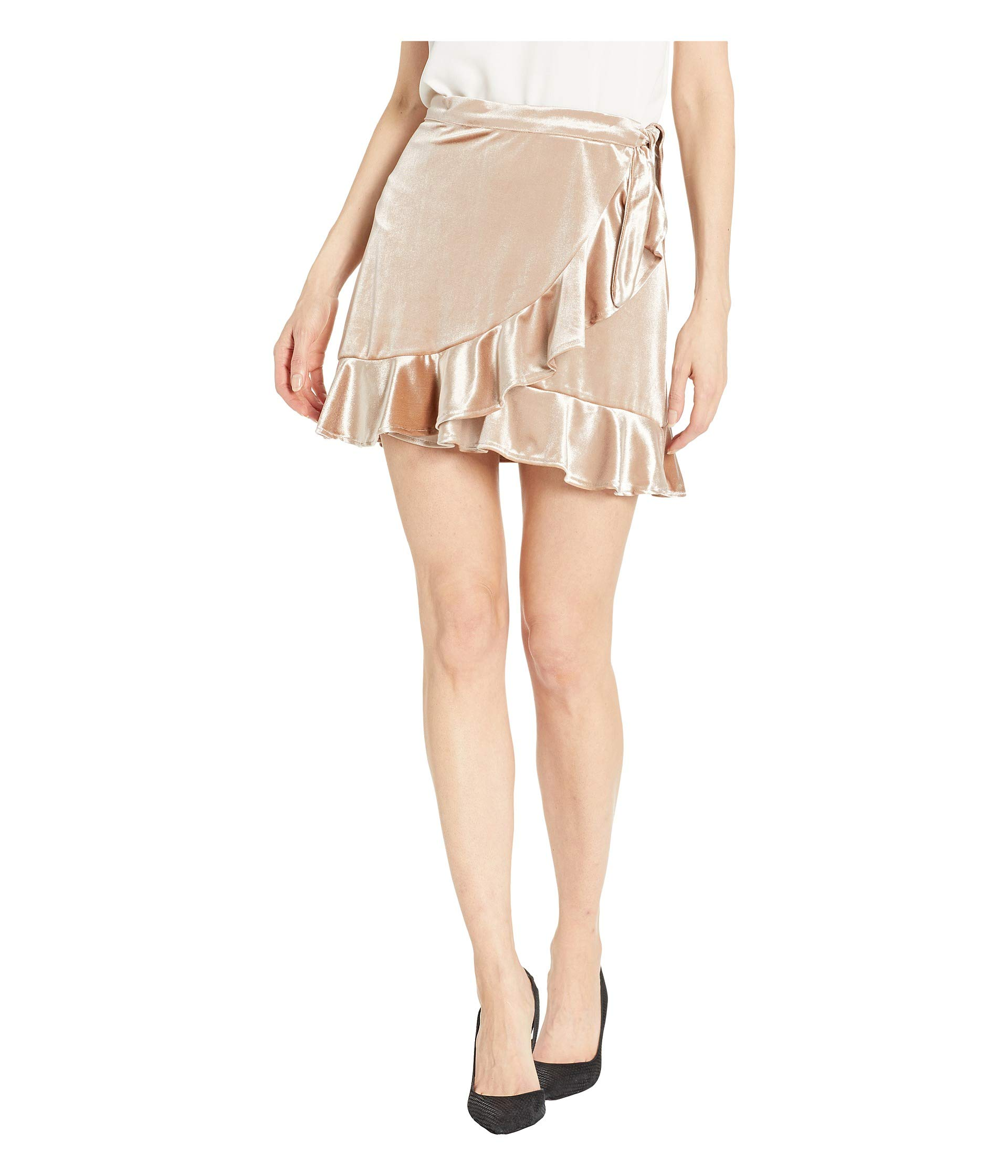 Bb This Velvet Good Gold Skirt Pale Dakota Look rT6qEwnra