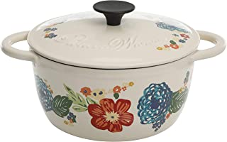 The Pioneer Woman Dazzling Dahlias 3-Quart Casserole with Lid