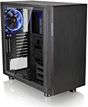Thermaltake Suppressor F31 Tempered Glass Edition SPCC ATX Mid Tower Tt LCS Certified Ultra Quiet Gaming Silent Computer C...
