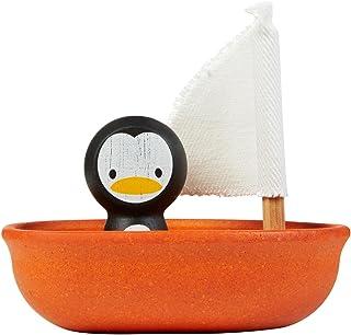 PlanToys - Sailing Boat-Penguin