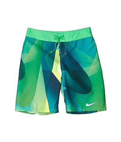 Nike Kids 8 Spectrum Drift Boardshorts (Little Kids/Big Kids) (Green Spark) Boy