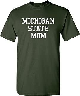NCAA Mom Basic Block, Team Color T Shirt, College, University T-Shirt
