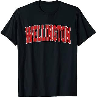 WELLINGTON KS KANSAS Varsity Style USA Vintage Sports T-Shirt