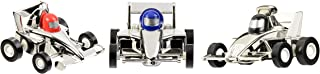 Aeromax Pull Back Silver Race Car 3 Pack
