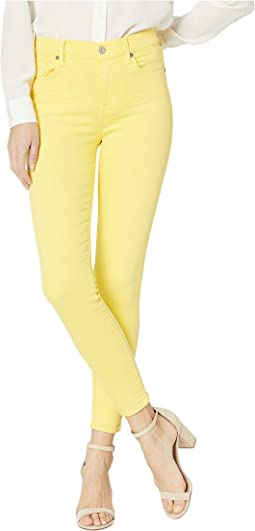 High Waist Ankle Skinny Jeans in Dandelion