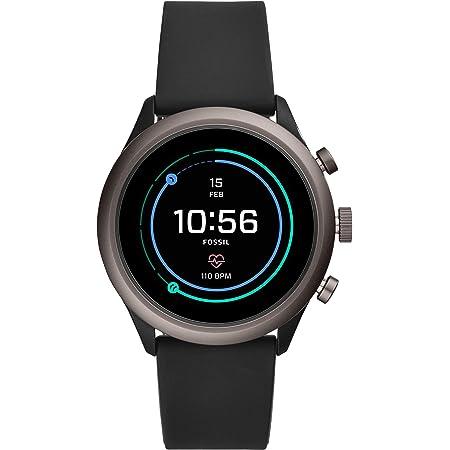 [フォッシル] 腕時計 FOSSIL スポーツスマートウォッチ FTW4019 メンズ 正規輸入品 ブラック