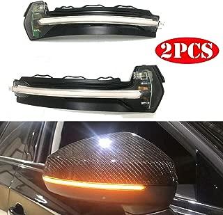 White 2 /× Indicatori di luce di segnalazione a LED laterali a scorrimento che possono essere utilizzati per Ford Focus MK1