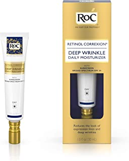 Roc Retinol Correxion Deep Wrinkle Daily Moisturizer, SPF 30, 1-ounce Tube