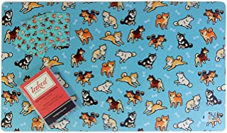 Inked Playmats Playmat and Sleeve Combo Pack Inked Gaming Perfect for TCG Card Gaming Game Mat (Shibas)