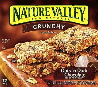Best nature valley crunchy granola bars oats n dark chocolate Reviews