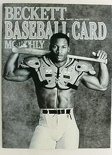 Bo Jackson June 1991 Beckett Baseball Card Monthly Magazine #63 *BO KNOWS*
