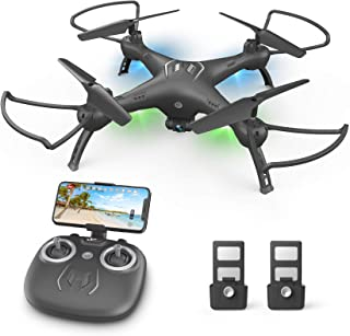 DronewithCameraforKids/Adults/Beginners-1080PHDDrones for Adults, with120°Wide-Angle CameraDrone, girls / boy...