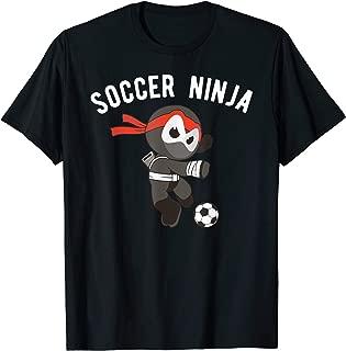 Ninja Soccer Ninjutsu Footballer T-Shirt