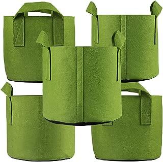 Ming Wei Grow Bags (25 Gallon, Army Green)