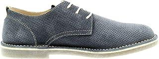 Luxury Fashion | Igi & Co Men 5110011BLU Blue Suede Lace-up Shoes | Spring-summer 20