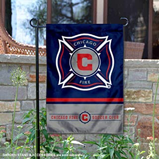 WinCraft Chicago Fire Double Sided Garden Flag