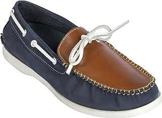 tZaro Genuine Leather Boat Shoe - Noah