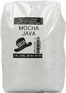 Larry's Coffee Organic Fair Trade Whole Bean, Mocha Java Blend, 5-Pound Bag