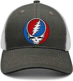 HJHJFT Mens Woman Adjustable Trucker Hat Grateful-Style-Dead-Symbol-Steal af1ef2fc2faf