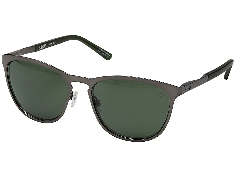 Spy Optic Cliffside (Matte Gunmetal/Matte Translucent Seaweed/Happy Gray Green) Sport Sunglasses