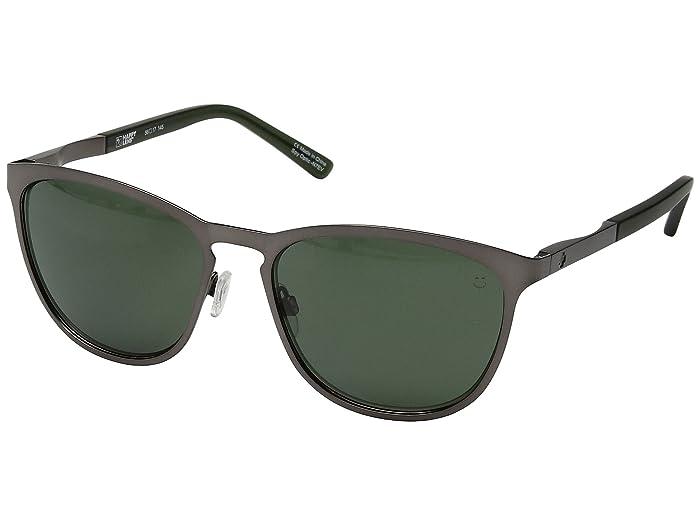 Spy Optic Cliffside (Matte Gunmetal/Matte Translucent Seaweed/Happy Gray Green) Sport Sunglasses